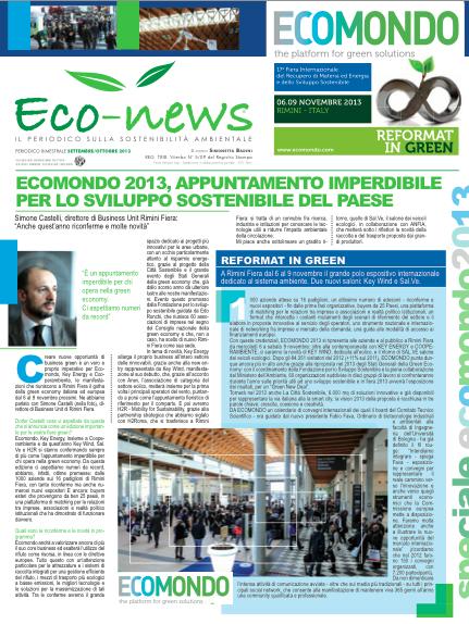 26 Set-Ott 2013 - Speciale Ecomondo
