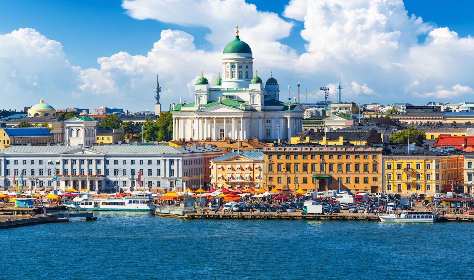 Dalla bretella cisterna valmontone ad helsinki passando for Capitale finlandese