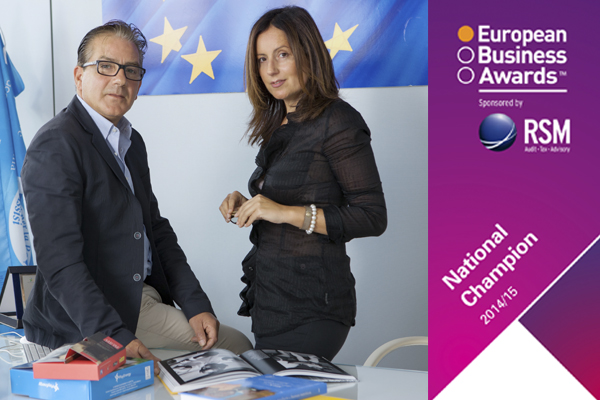 "Una PMI ""green"" italiana Campione Nazionale all'European Business Award 2014/15"