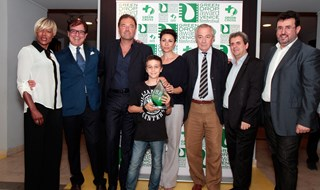 Il Green Carpet alla Casa del Cinema di Roma con il Green Drop Award